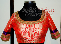 Designer Saree-Blouse Stitching. Experienced Tailors. Wholesale Rate.Fast Delivery.