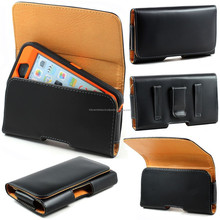Leather Carrying Belt Clip Pouch Fits Otterbox Defender iPhone 6 Plus 5S 5C 4S 6