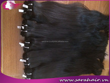 Online shopping natural high quality unprocessed body wave Vietnamese virgin hair extension