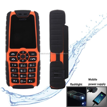 Dual SIM 2G GSM Mobile Phone, Flashlight Functions - Orange