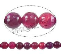Natural Rose Agate Beads Round Customized & more sizes for choice & faceted Hole:Approx 1-1.5mm Sold Per Approx 15 Inch Strand