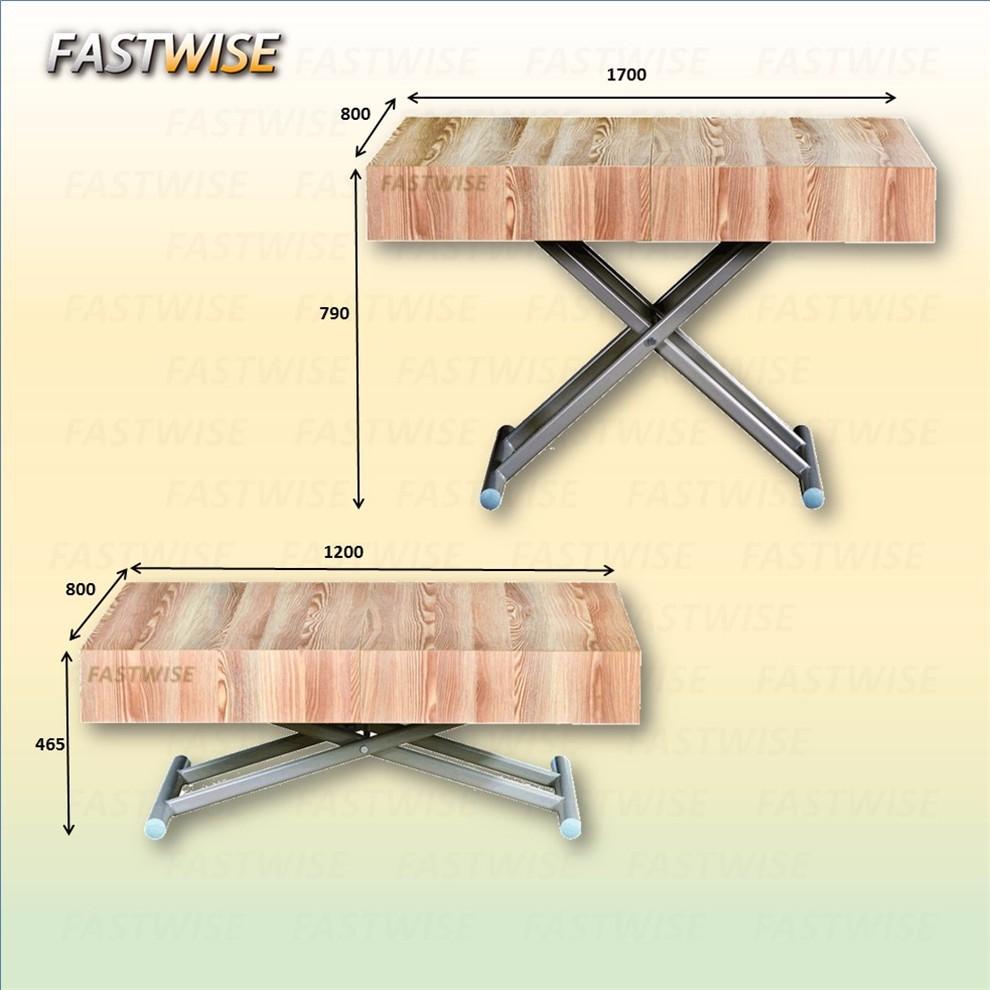 china neue design holz cabrio wandelbare couchtisch esstisch 2in1, Hause ideen