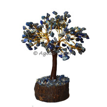 Lapis lazuli tronco 300 batatasfritas tree- palmeira artificial artesanato