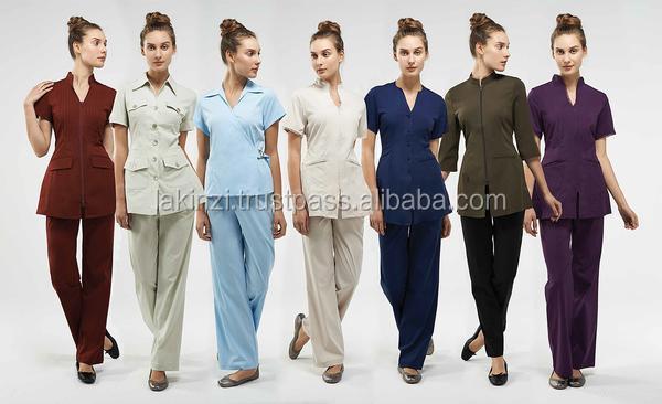 Gros belle salon spa uniforme pour esth ticienne uniforme for Uniform design for spa