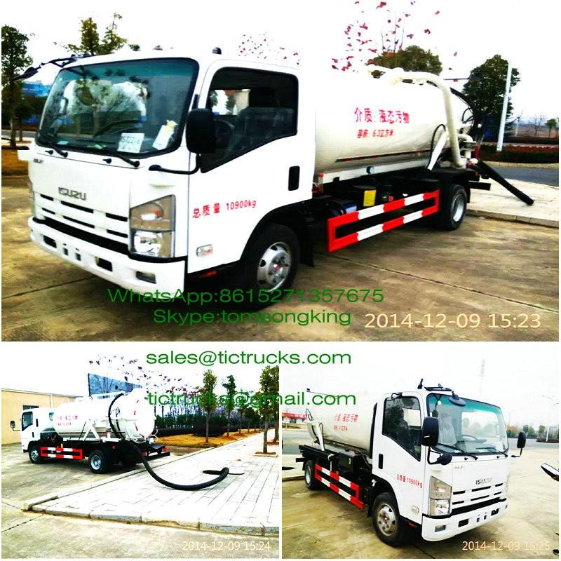 ISUZU Vacuum tanker Truck -370.jpg
