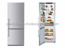 Liebherr CS136 24-inch, counter-depth, bottom-freezer refrigerator has a 13 cubic-foot capacity and stands 79.8-inches tall.