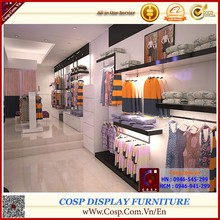 Vietnam full set of designed clothing shops, cabinet and showcase and accessories, Viet Nam direct manufacturer exporting