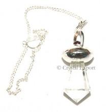 Crystal Quartz Spiritual Pendulums : Wholesale Gemstone Pendulums, Agate Pendulums