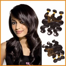 Virgin Hair Body Wave Human Hair Extensions
