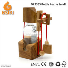 Wooden Wine Bottle Puzzle promotional gift