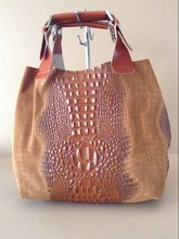 Woman bag made of genuine leather made in Italy