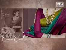 Leesa Bhagalpuri Cotton Sarees