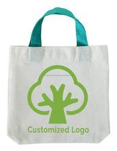 Natural Cotton Shop Handle Bag