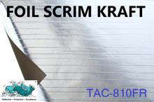 FSK (Foil Scrim Kraft) roof insulation 1 way fire retardant