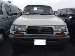 JAPANESE USED CARS FOR TOYOTA LAND CRUISER80 5D4WD CAMPING KC-HDJ81V EXPORTED FROM JAPAN