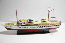 NORGE ROYAL CRUISE SHIP WOODEN MODEL BOAT