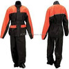 Black/Pink polyester motorcycle rain suits