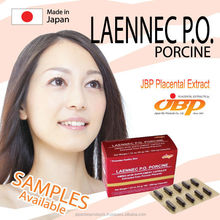 Japanese anti-aging porcine placenta extract capsules supplement