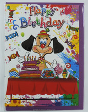 artom grafica per bambini carta di compleanno felice