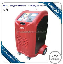 Portable r134a Refrigerant Air Conditioning Recovery Machine AC Service Station