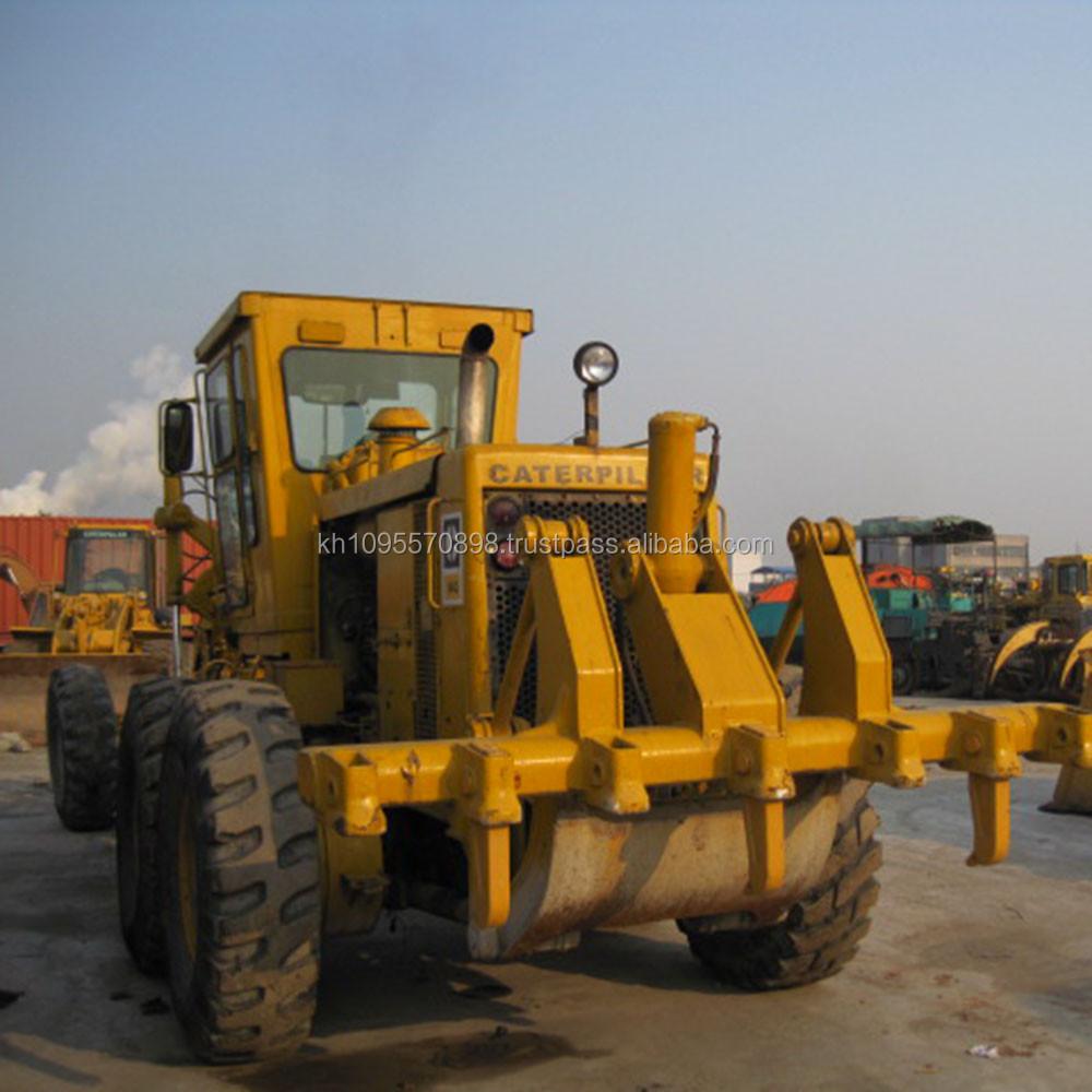 Used Caterpillar 14g Motor Grader Cat 14g Grader For Sale