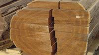 Teak wood round/Rough square logs