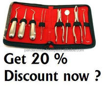 Stock clearance sale Get 20 % Discount on all kind of Dental Instruments for Dentists Pay by Paypal By PAK DENT MAX