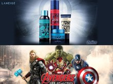 Avengers with Korean Cosmetic : Laneige Limited Product for May
