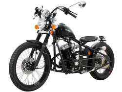 EPA&DOT APPROVED+ Free Shipping 125cc Custom Bobber Motorcycles Street Legal Bikes