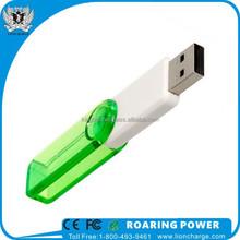 Kingblu KB-UD014 Transparent Plastic USB Flash Drive