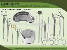 La dilatación y legras conjunto/conjuntos de la cirugía/médicos instrumentalquirúrgico/instrumentalquirúrgico