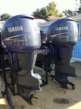 Used Yamaha F250 250 HP 250hp 4 Stroke Outboard Motor Engine