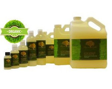 Refined odourless coconut oil
