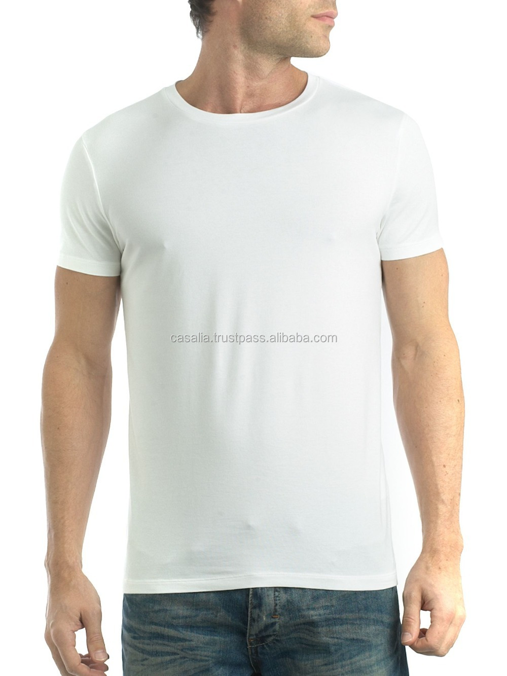 Wholesale plain white 100 cotton t shirts for men buy t Cheap plain white shirts