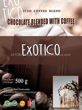 Chocolate Beverage Powder Blended with Coffee - Exotico