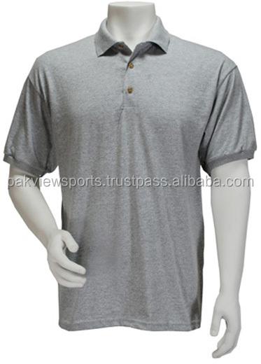 Wholesale short sleeve 100 polyester polo shirts plain for Bulk golf shirts wholesale