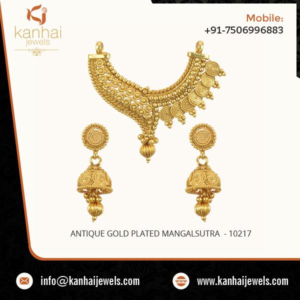 Antique Gold Plated Mangalsutra.jpg