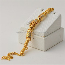 Europe and America Hot Selling New Design 22K Gold Hollow Bracelet