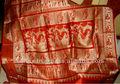 Sari de seda india telares manuales puros fabricante trabajo
