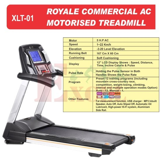 Sole Treadmill Serial Number: Commercial Royal Treadmill