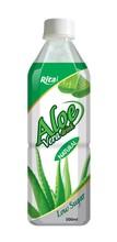 Natural aloe vera drink low sugar in 500ml Pet.