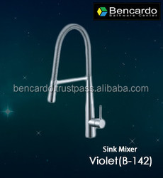 Faucet - Pull Out Kitchen Faucet - Sink Faucet- Single Lever Sink Mixer - Bencardo - B-142