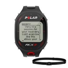 NIB Unisex Polar RCX3 Sports Watch Heart Rate Monitor Black
