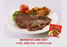MARINATED LAMB CHOP