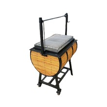 Barbecue Smoker,Asador,Ataud,Burner,Smoker,Charcoal Fueled Grill,Wood Grill, Whiskey Barrel Grill,Dual Fuel Grill