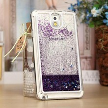 Flowing Liquid Sand Glitter Quicksand Mobile Phone Case Cover for Samsung Note3