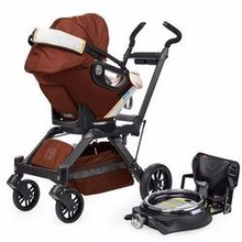Buy 2 get 1 free New Orbit Baby G3 Travel Collection with Black Frame in Mocha