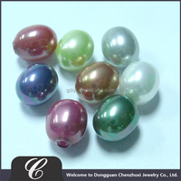 Wholesale 2014 Glass Pear 6MM Glass Pearl various Color