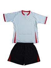 Atacado completa sublimated conjunto uniforme de futebol design / uniforme feminino escritório designs