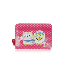 New Fashion Lovely Design Winter Owls Small Purse for Women, Ladies, Girls